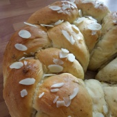 66. Finnish Pulla - Apricot and Cardamom